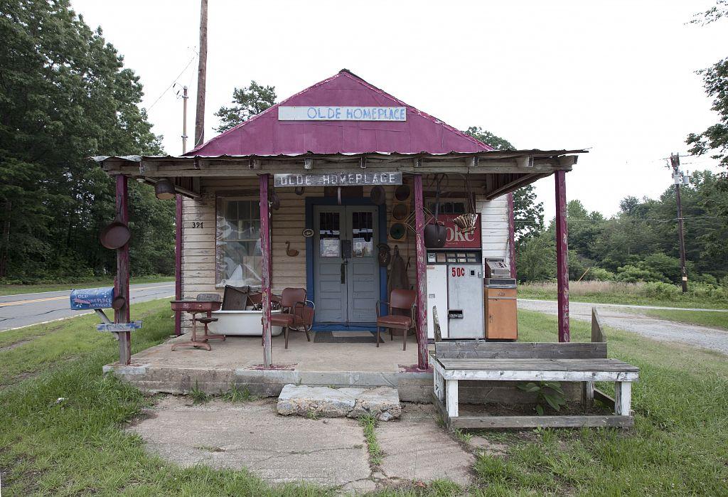 Old store in rural North Carolina